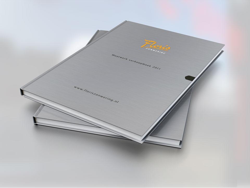 Floris Zonwering, verkoopboek