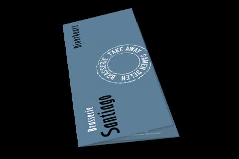 Brasserie Santiago, menukaarten zomer 2018