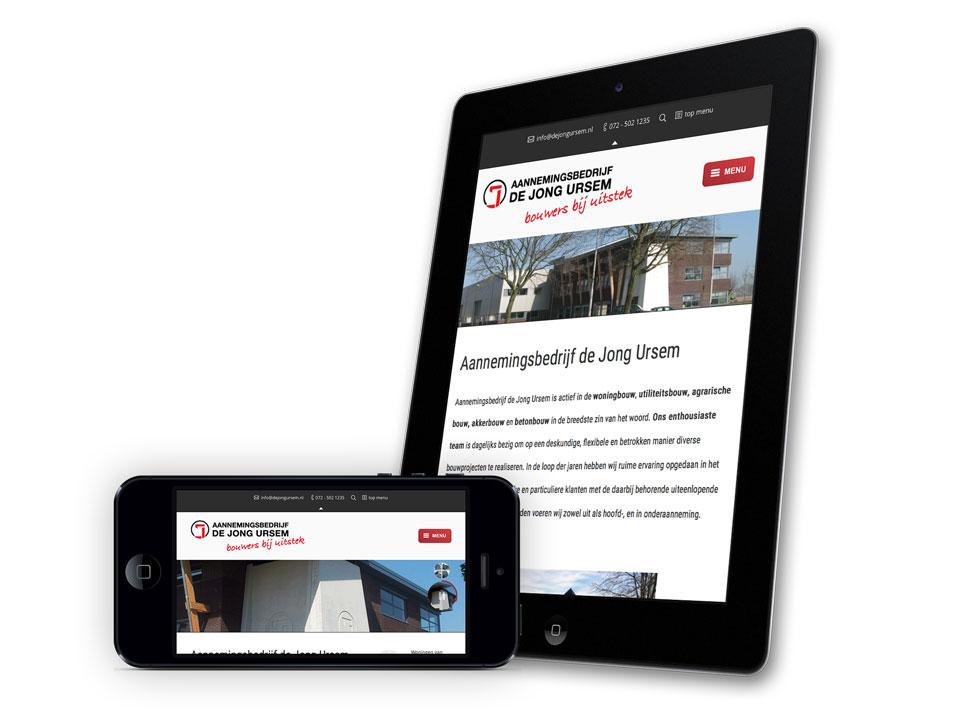 De Jong Ursem, website