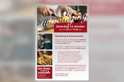 Ant. Duijn keukens, advertenties