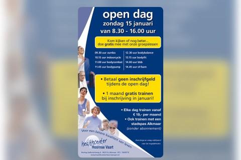 Healthcenter Hoornse Vaart, advertentie