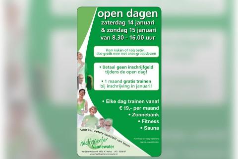 Healthcenter Vennewater, advertentie