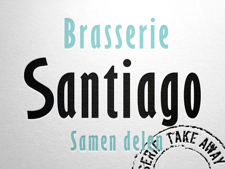 Brasserie Santiago, logo