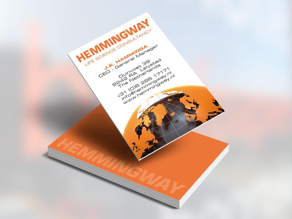 Hemmingway, visitekaartje
