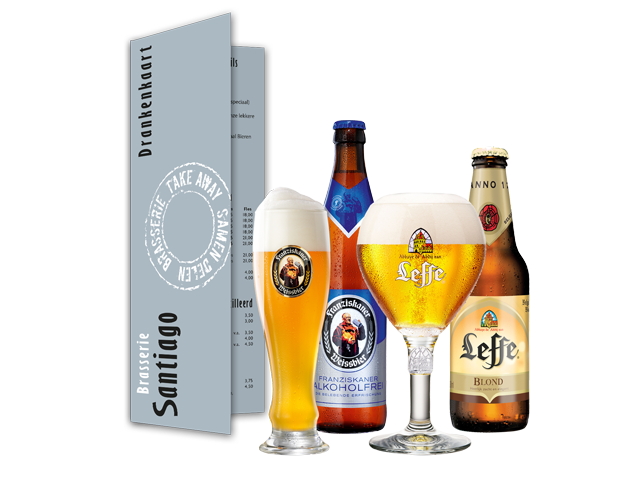 Brasserie Santiago – Bierkaart