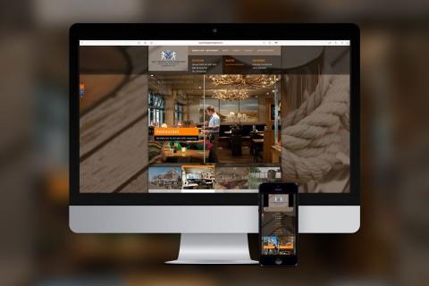 Het Wapen van Egmond, responsive website