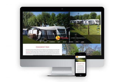 Camping de Zonnehoeve, website