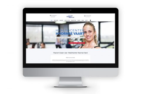 Healthcenter Hoornsevaart, website