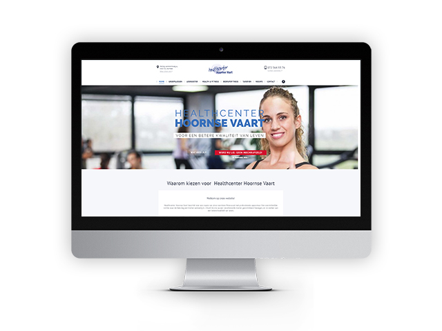 deskstop-website-healthcenter hoornse vaart
