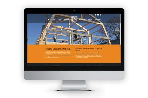 Hout en huis in stijl, website