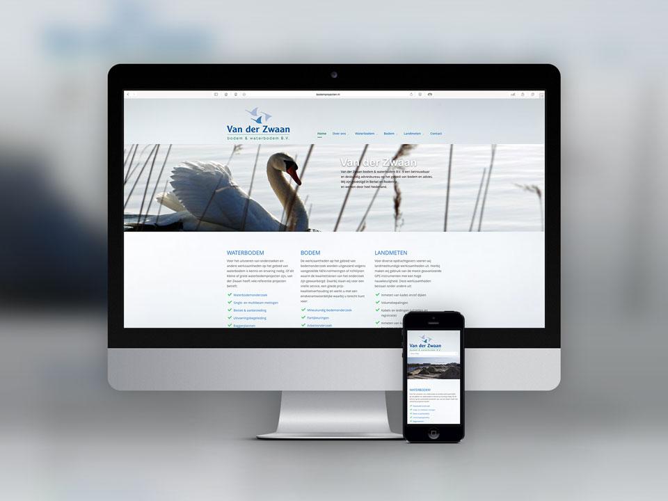 van der Zwaan, website