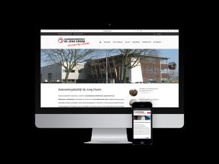 desktop-responsive-website-de jong ursem