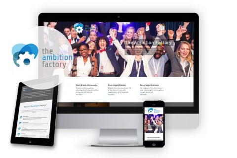 The Ambition Factory, website