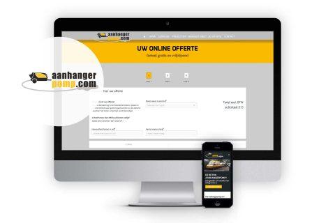 Aanhangerpomp.com, website