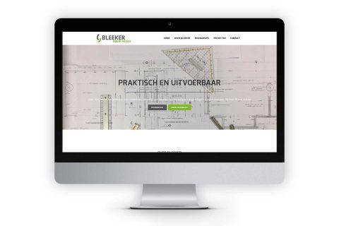 Bleekerbouwadvies.nl, website