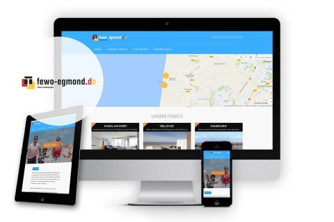 Fewo-egmond.nl, website