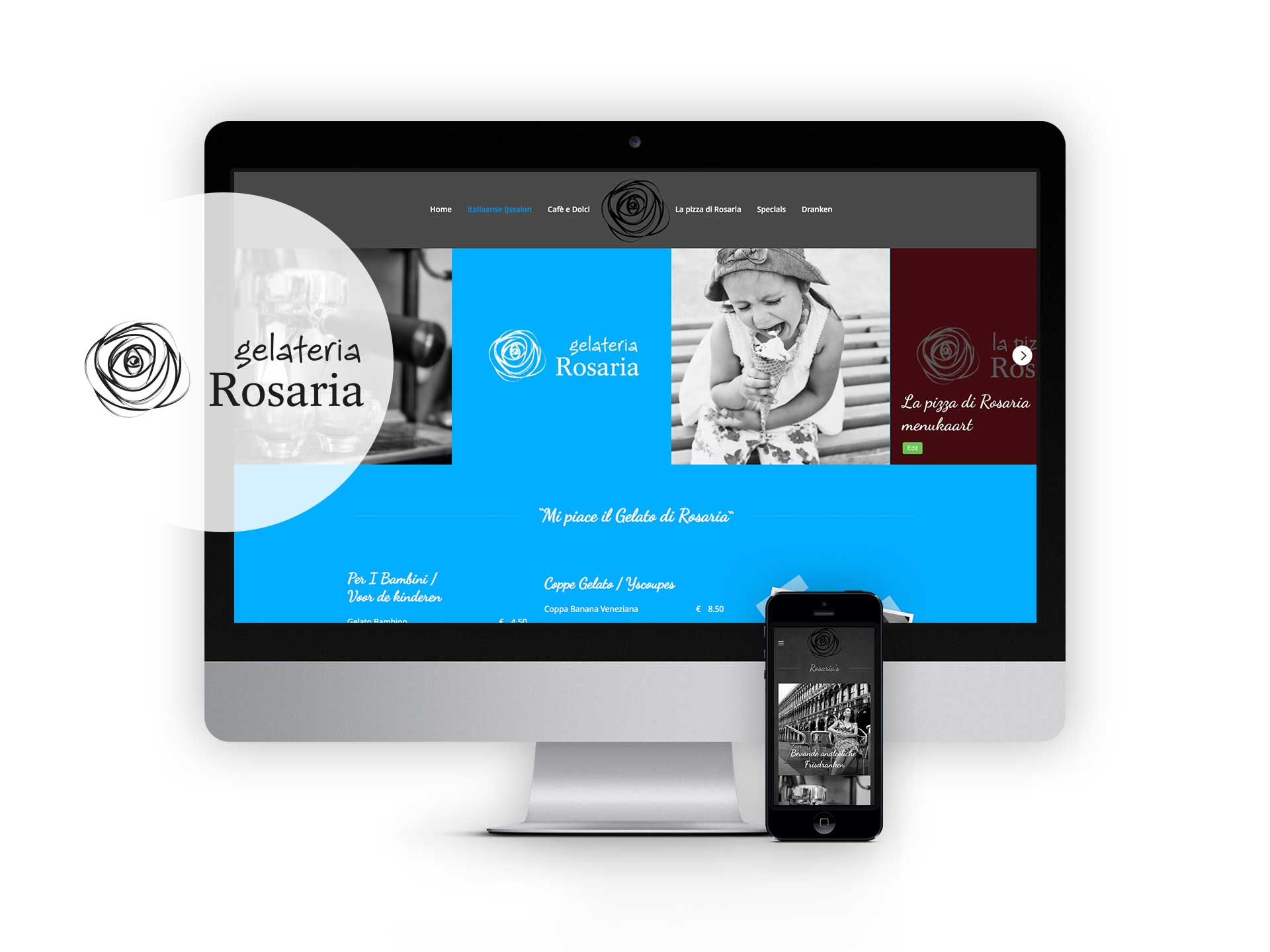 Rosaria, website