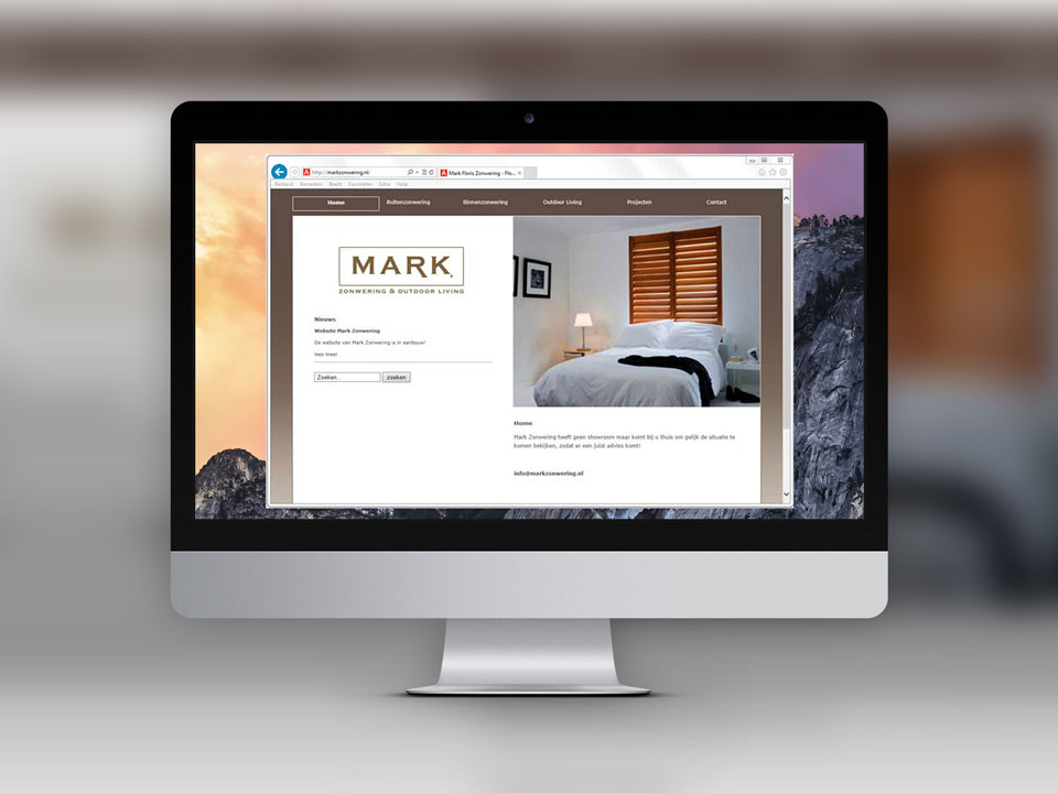 Mark Zonwering, website