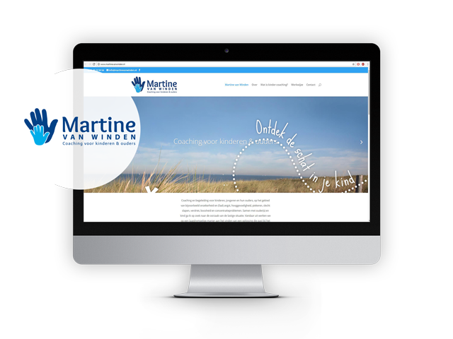 Martine van Winden, website live