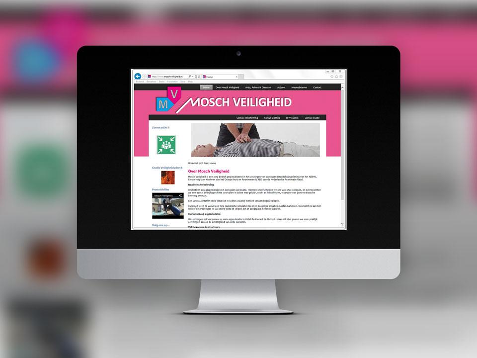 Mosch Veiligheid, website