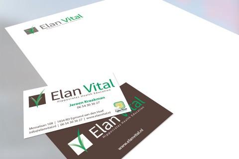 Elan Vital, logo & huisstijl