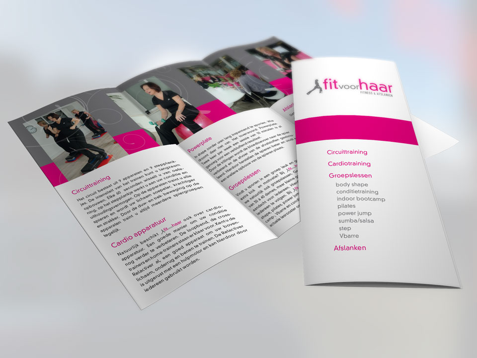 Fit 4 Haar, brochure