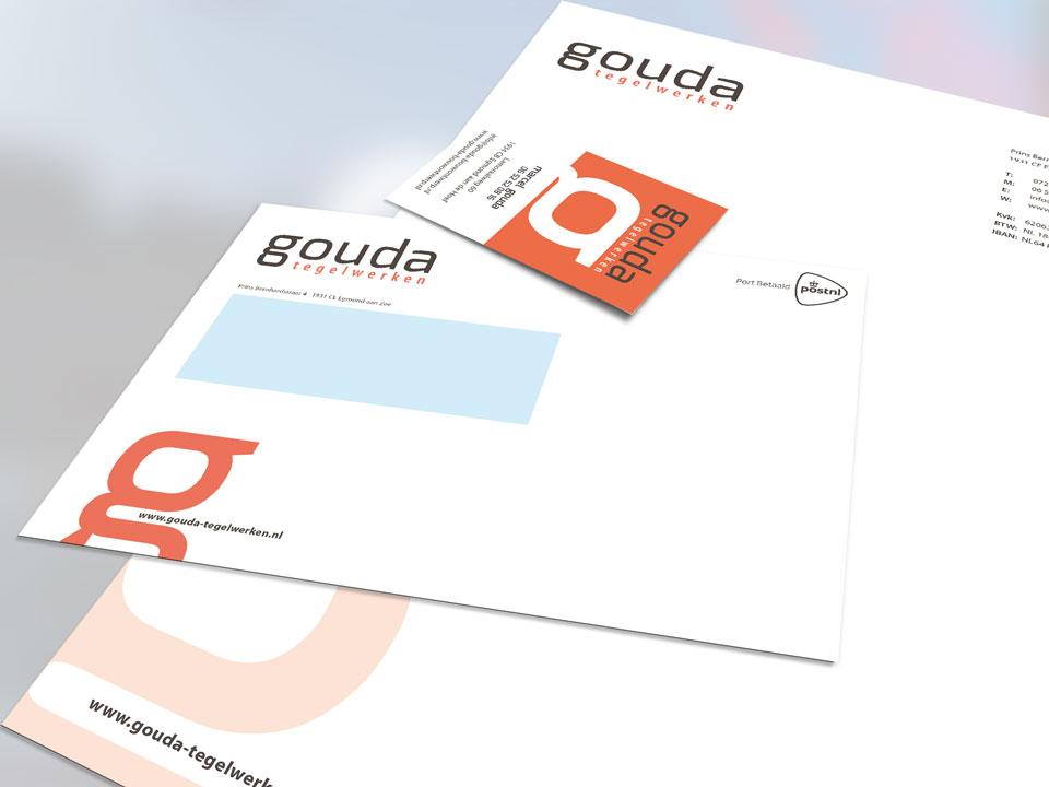 De firma Gouda, Huisstijl