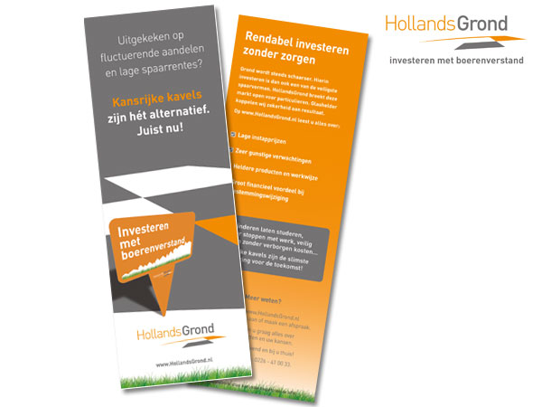 Hollands Grond, flyer