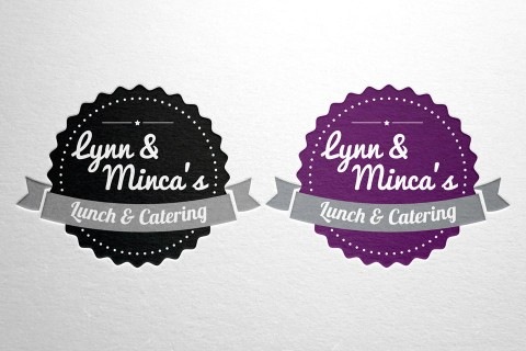 Lynn & Minca's, lunch en catering, logo