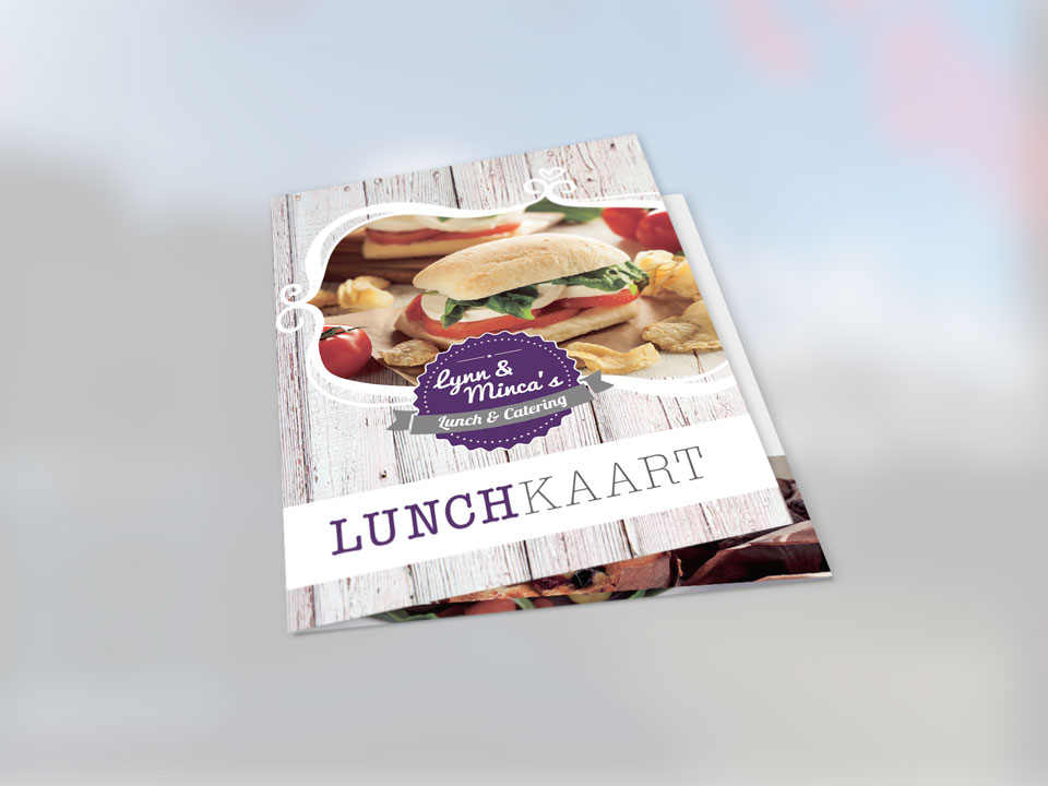 Lynn & Minca, lunchkaart