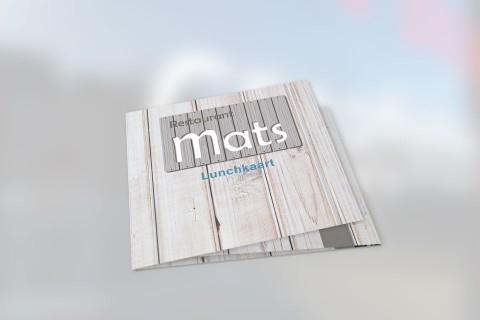 Mats, lunchkaart