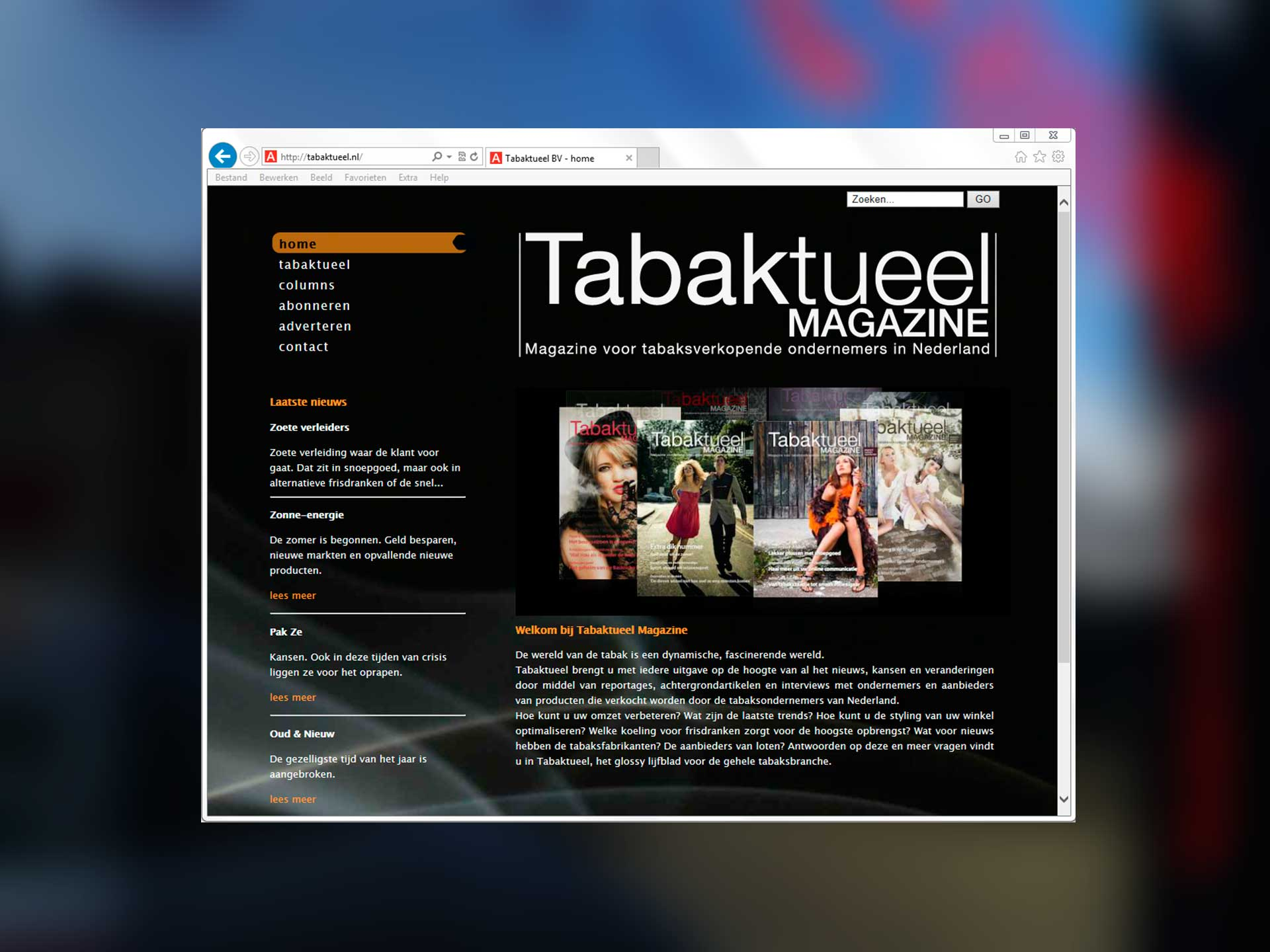 Tabaktueel, website